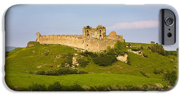 Politics Photographs iPhone Cases - The Ruined Walls Of Roche Castle iPhone Case by Panoramic Images