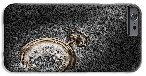 Submerged iPhone Cases - The Sands of Time iPhone Case by Tom Mc Nemar