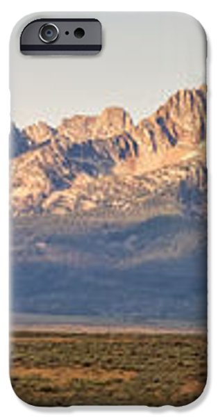 The Sawtooths' iPhone Case by Robert Bales