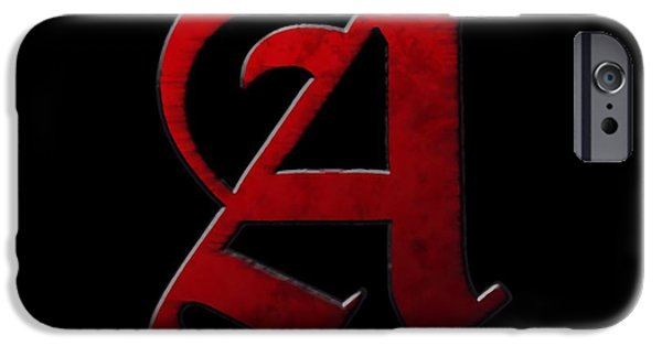 Deceit iPhone Cases - The Scarlet Letter iPhone Case by Dan Sproul