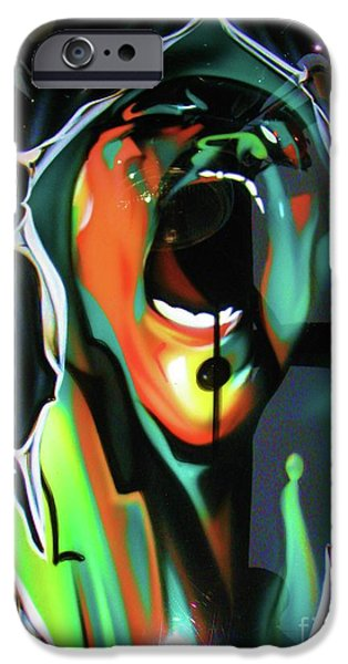 Best Sellers -  - Airbrush iPhone Cases - The Scream - Pink Floyd iPhone Case by Susan Carella