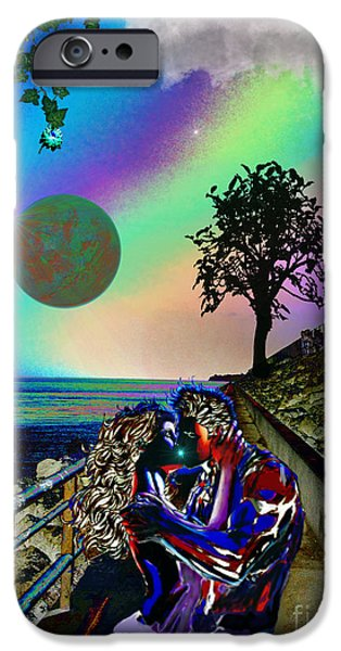 Rucker iPhone Cases - The Seawall iPhone Case by Michael Rucker