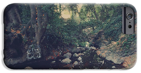 Creek iPhone Cases - The Secret Spot iPhone Case by Laurie Search
