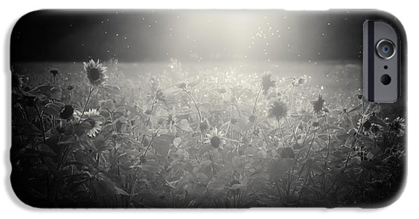 Meadow Photographs iPhone Cases - The select few iPhone Case by Chris Fletcher
