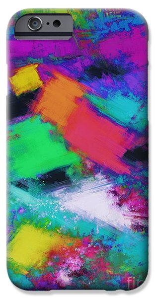 Loose Style Digital iPhone Cases - The selection iPhone Case by Keith Mills