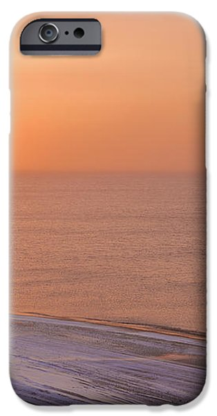 The Setting Sun Shining Through iPhone Case by Kevin Smith