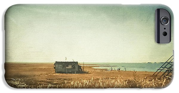 Fishing Shack iPhone Cases - The Shack - LBI iPhone Case by Colleen Kammerer