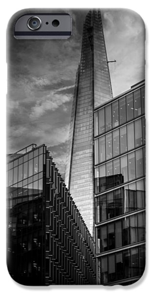 Workplace iPhone Cases - The Shard London iPhone Case by Martin Newman