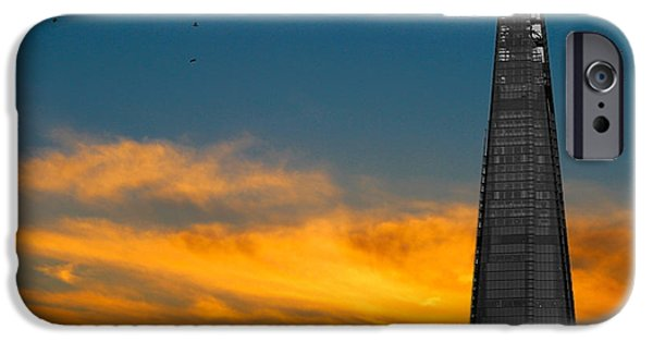 Citylife iPhone Cases - The Shard iPhone Case by Martin Newman