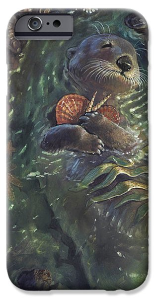 Storybook iPhone Cases - The Shell Collector iPhone Case by Jaimie Whitbread