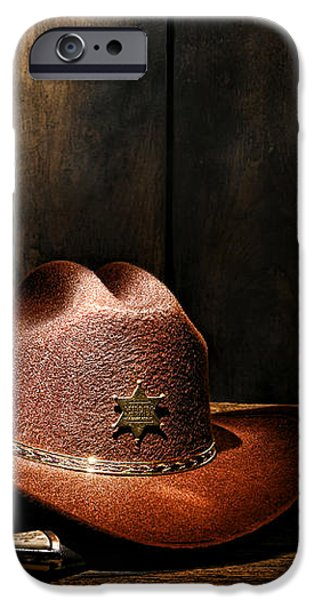 The Sheriff Office iPhone Case by Olivier Le Queinec