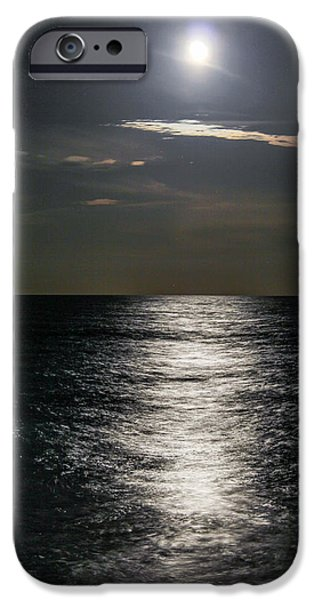 Moonscape iPhone Cases - The Shining iPhone Case by Tyson Kinnison