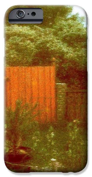 The Side Yard iPhone Case by YoMamaBird Rhonda