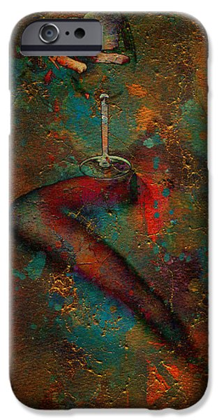 Wine Legs iPhone Cases - The Sipper iPhone Case by Greg Sharpe