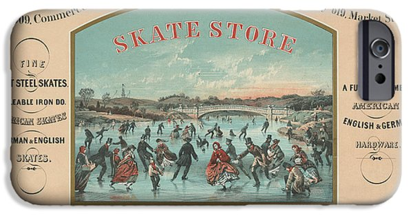 Antiques iPhone Cases - The Skate Store iPhone Case by Gary Grayson