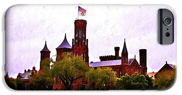 Smithsonian Museum iPhone Cases - The Smithsonian iPhone Case by Bill Cannon
