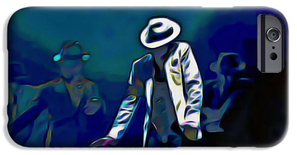 Smooth Criminal iPhone Cases - The Smooth Criminal iPhone Case by  Fli Art