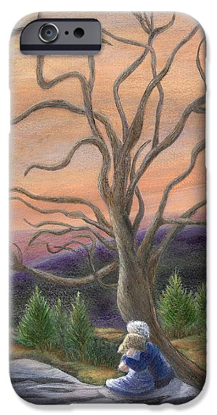 Catherine Howard iPhone Cases - The Solace Tree iPhone Case by Catherine Howard