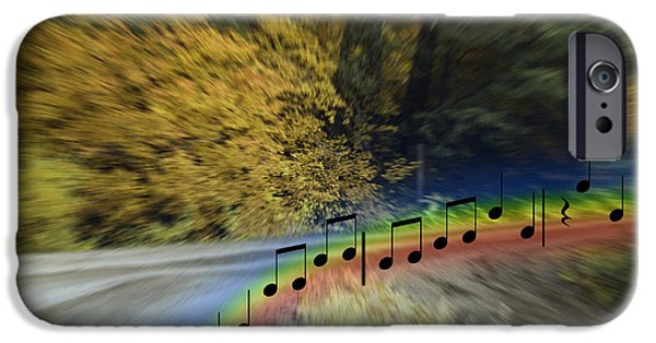 Piano iPhone Cases - The Song That Keeps Repeating In My Head iPhone Case by Diane Schuster