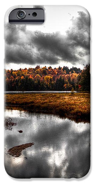 The South End of Cary Lake iPhone Case by David Patterson