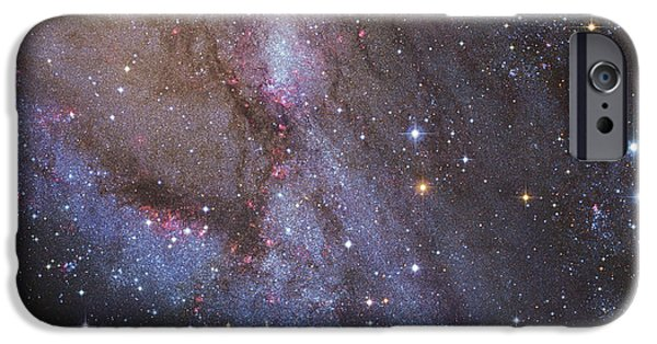 Constellations iPhone Cases - The Southwest Spiral Arm Of Messier 31 iPhone Case by Robert Gendler
