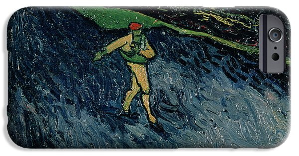 At Work iPhone Cases - The Sower iPhone Case by Vincent van Gogh