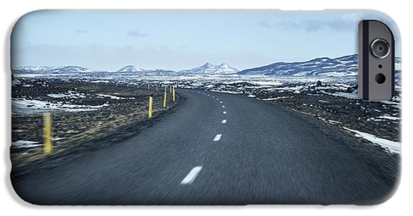 Recently Sold -  - Asphalt iPhone Cases - The Speed I Need iPhone Case by Evelina Kremsdorf
