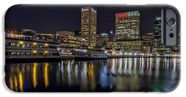 Chesapeake Bay iPhone Cases - The Spirit of Baltimore iPhone Case by Rick Berk