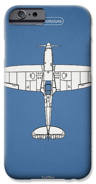 Flight iPhone Cases - The Spitfire iPhone Case by Mark Rogan