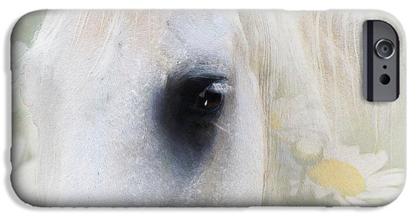 Airbrush Mixed Media iPhone Cases - The Spring Gift Giver iPhone Case by Georgiana Romanovna