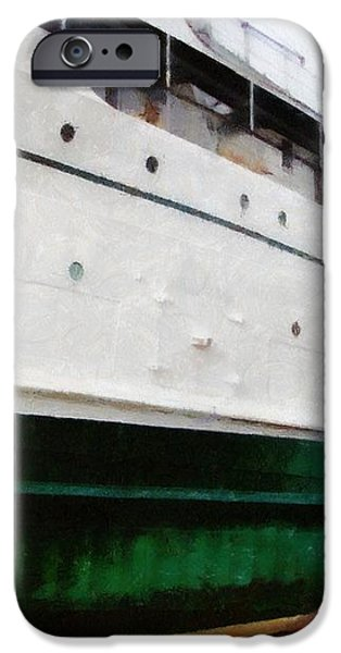 The S.S. Keewatin iPhone Case by Michelle Calkins