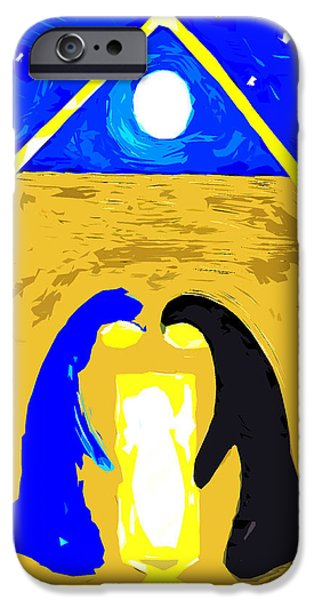Miracle Mixed Media iPhone Cases - The Stable iPhone Case by Patrick J Murphy