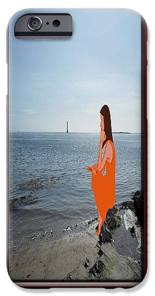 Abstract Expressionism Photographs iPhone Cases - The Stage iPhone Case by Patrick J Murphy
