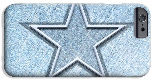 The Cowboy iPhone Cases - The Star iPhone Case by Cristophers Dream Artistry