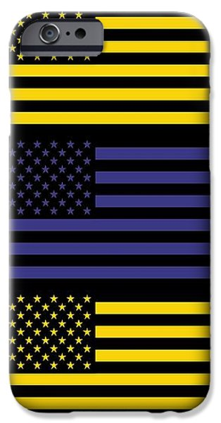 The star flag iPhone Case by Toppart Sweden