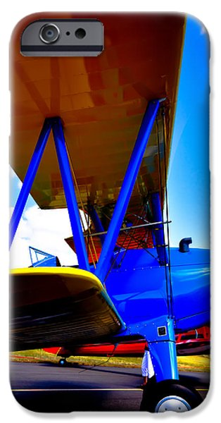 David iPhone Cases - The Stearman iPhone Case by David Patterson