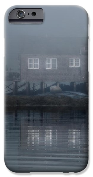 The Still of Morning - Maine iPhone Case by Thomas Schoeller