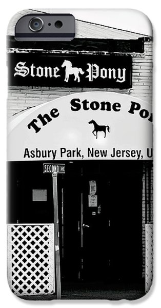 Springsteen iPhone Cases - The Stone Pony Asbury Park NJ iPhone Case by Terry DeLuco