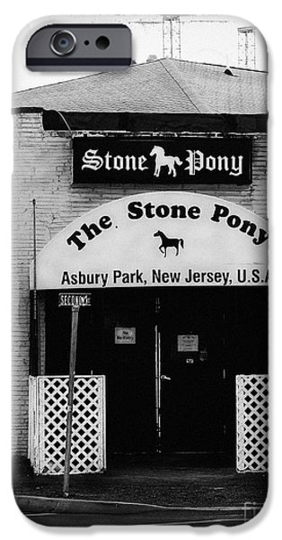 Springsteen iPhone Cases - The Stone Pony iPhone Case by Colleen Kammerer