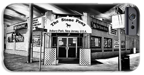 John Rizzuto iPhone Cases - The Stone Pony iPhone Case by John Rizzuto