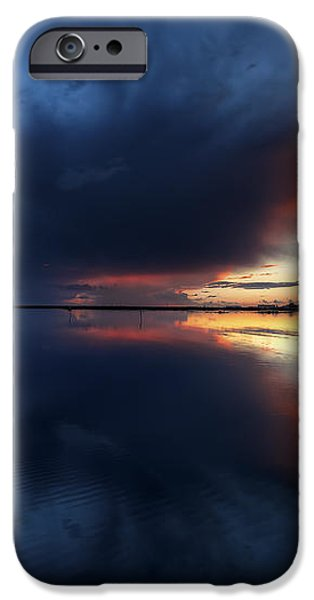 The Storm iPhone Case by English Landscapes