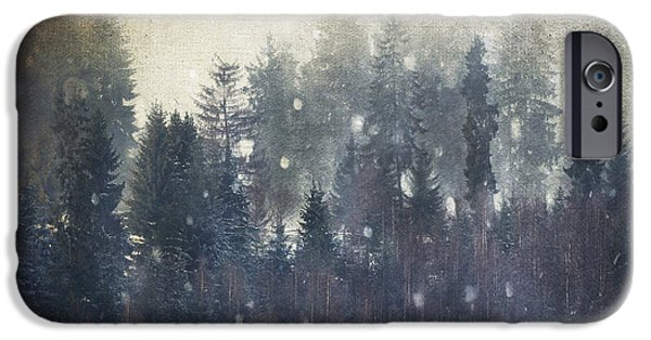 Winter Storm iPhone Cases - The Storm iPhone Case by Toma Bonciu