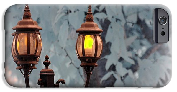 Electrical iPhone Cases - The Street Lamp iPhone Case by Paul Ward