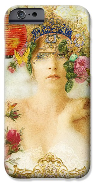 The Summer Queen iPhone Case by Aimee Stewart