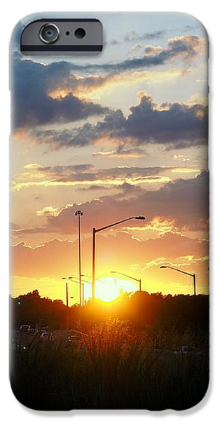 The Sun Goes Down iPhone Case by Maurice Smith