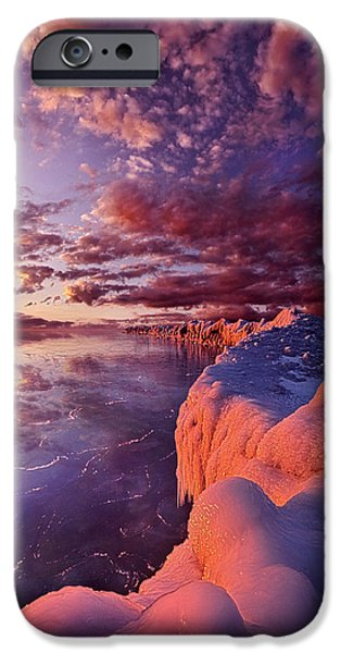 Chicago iPhone Cases - The Sun Will Come Out Tomorrow iPhone Case by Phil Koch
