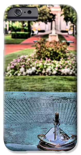 Annapolis Md iPhone Cases - The Sundial iPhone Case by JC Findley