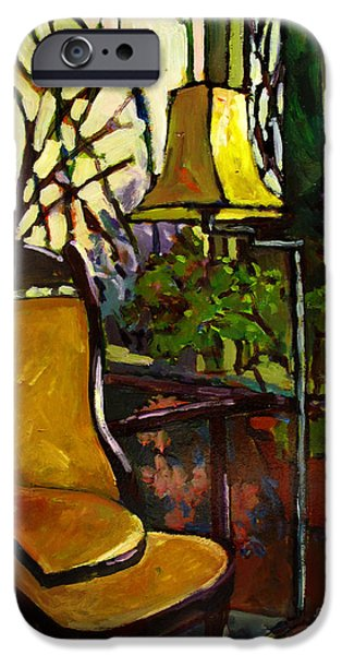 """indoor"" Still Life Paintings iPhone Cases - The SUNROOM iPhone Case by Charlie Spear"