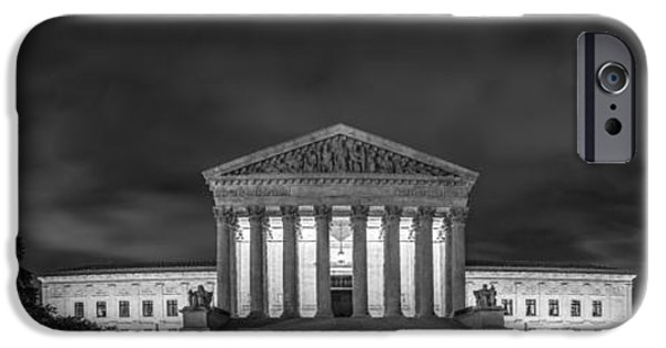 Constitution iPhone Cases - The Supreme Court iPhone Case by David Morefield