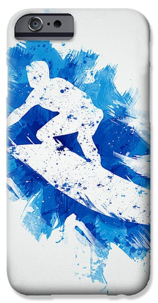 The Surfer iPhone Case by Aged Pixel